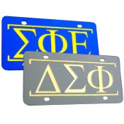 Fraternity-Sorority Auto Tag