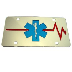 EMT-EMS Mirrored Auto Tag