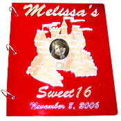 Castle Sweet 16 Sign In Book