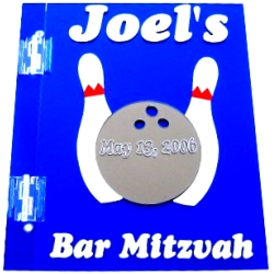 Bowling Mitzvah Sign In Book