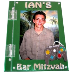 Video Game Mitzvah Sign In Book